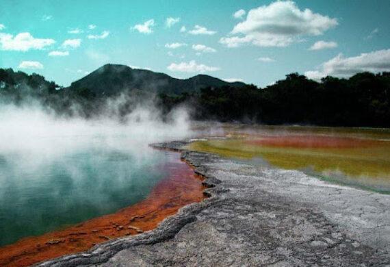 Você sabe como se forma a água quente <br>nas estâncias termais?